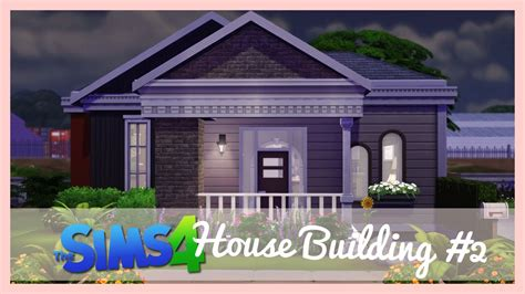 small house building the sims 4 house building 2 small house