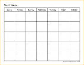 13 monthly schedule template workout spreadsheet