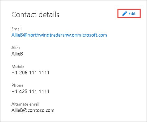 Office 365 Number Update Your Admin Phone Number And Email Address In Office