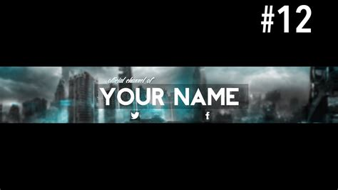 Youtube Banner Template Psd Template Business Gaming Banner Template Psd