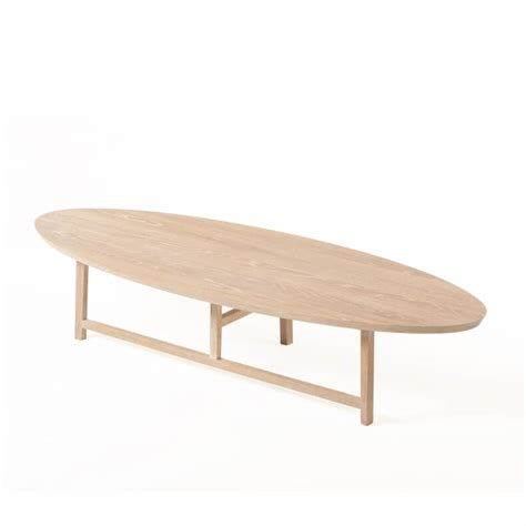 Trio Oval Coffee Table By Neri Hu Suite Wood Oval White Coffee Table