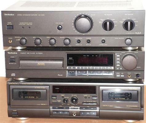 Cd Sl Tribal Set technics set receiver su vx 500 cd player sl pg520a