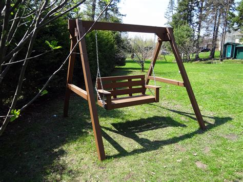 the love swing ana white great weekend project the quot love swing quot diy
