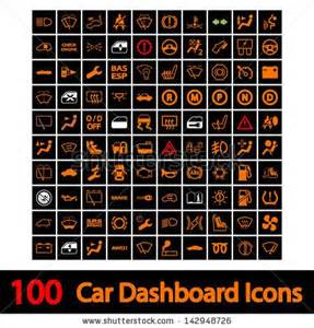 Car Dashboard Lights Explained Car Dashboard Icon Car Ui Icons Cars And