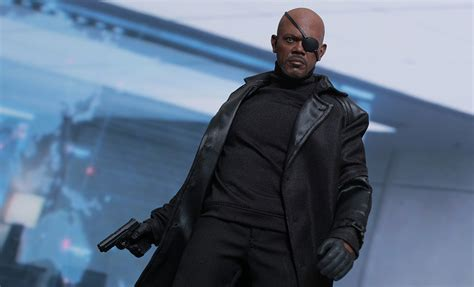 Toys Nick Fury The Winter Soldier Misb marvel nick fury sixth scale figure by toys sideshow collectibles