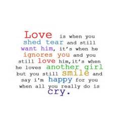 Love Quotes To Make Him Want You by Love Is When You Shed Tear And Still Want Him Nineimages