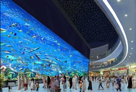 dubai mall in dubai united arab emirates the most