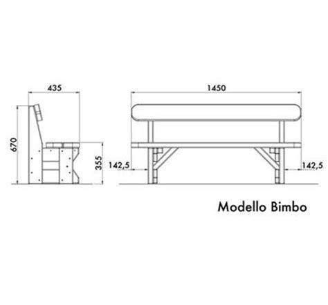 dimensioni panchina panchina in legno di pino nordico dimensioni per bambini