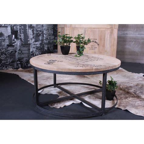 Table Basse De Salon Ronde