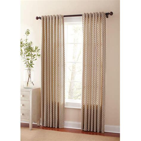 martha stewart tab top curtains martha stewart living semi opaque hickory moroccan back