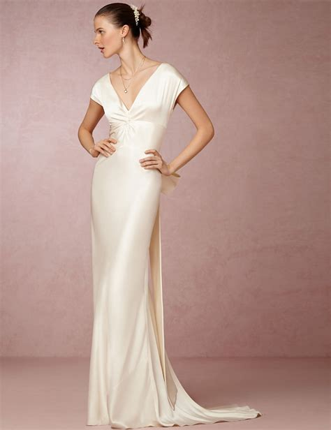 Silk Gown Wedding by Popular Wedding Dresses Silk Buy Cheap Wedding Dresses
