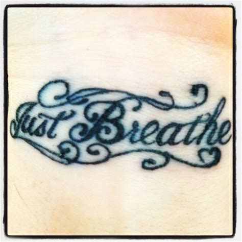 just breathe tattoo on wrist 54 elegant just breathe tattoos design on wrist
