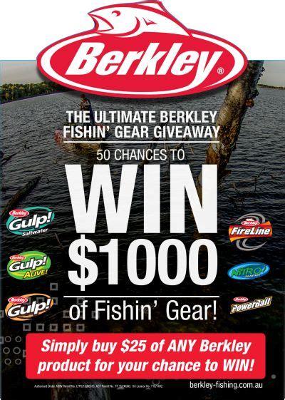 Gear Giveaway - the ultimate berkley fishin gear giveaway