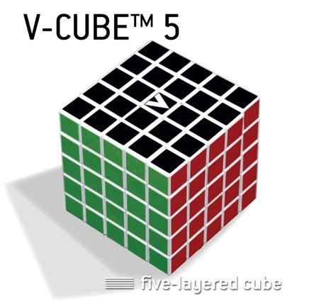 V Cube 5 Pillowed by V Cube 5 V Classics Five Layered 4x4 5x5x5 Smooth