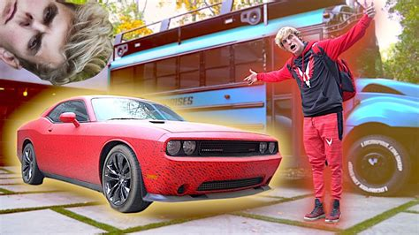 logan paul car the maverick car pranked by jakey