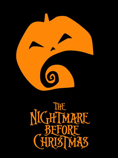 nightmare before christmas poster x mas
