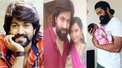 actor yash information actor yash family photos with wife radhika pandit sister