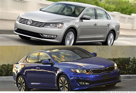 American Suzuki Financial by America S Best Loved Cars Mid Size Car Kia Optima Vw