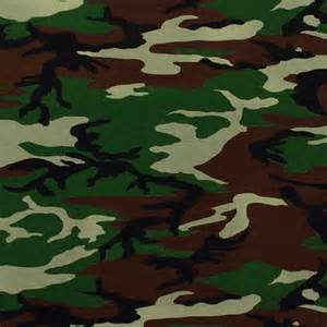 army camo cotton spandex knit fabric army green brown