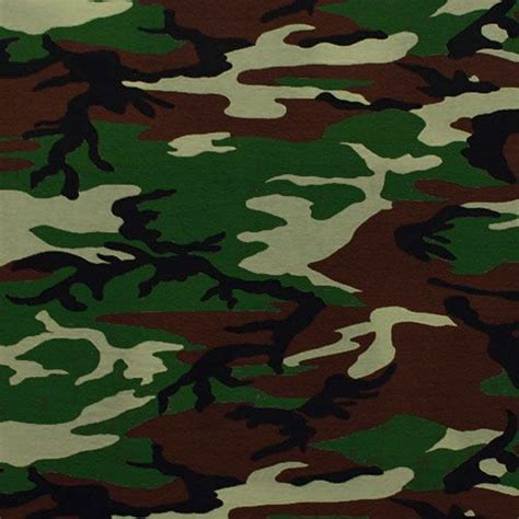 army pattern fabric army camo cotton spandex knit fabric army green brown
