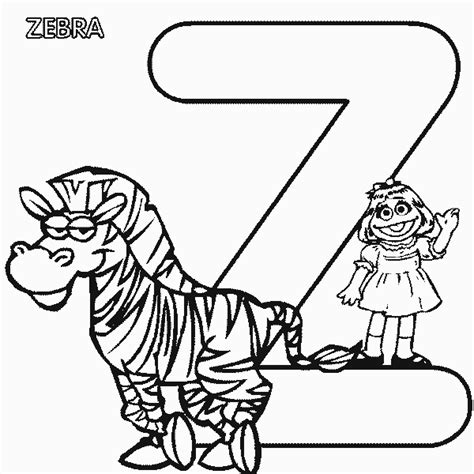 zebra z coloring page pin zebra sheets on pinterest
