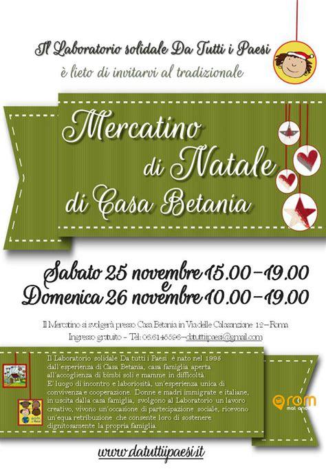 casa betania roma les march 233 s de no 235 l 224 rome 2017 infos dates et horaires