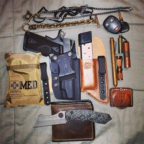 concealed carry edc everyday carry set up edc