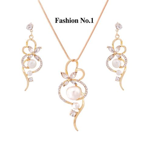 gold for jewelry free shipping wholesale trendy jewelry sets gold and