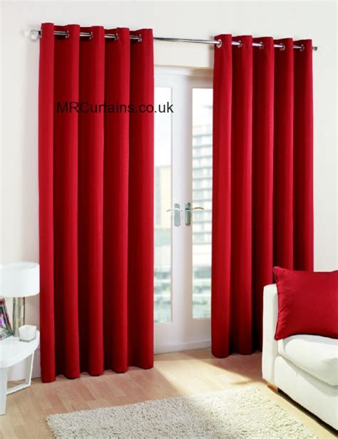 rectella curtains stockists rectella cuba eyelets curtain from 163 21 60 inc vat in red