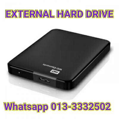 External Disk Lowyat External Disk Drive 40gb Western Digital