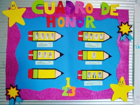 cuadro de honor cuadro de honor de foamy inspiraci 243 n pinterest
