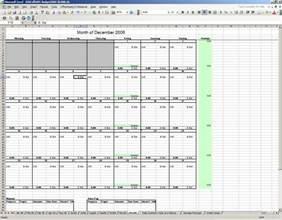 Budget Calendar Excel Excel Budget Calendar Template Calendar Template 2016