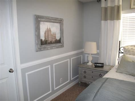 chair rail bedrooms to