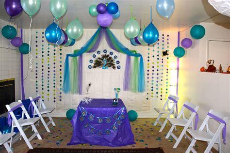 peacock birthday theme party ideas pinterest