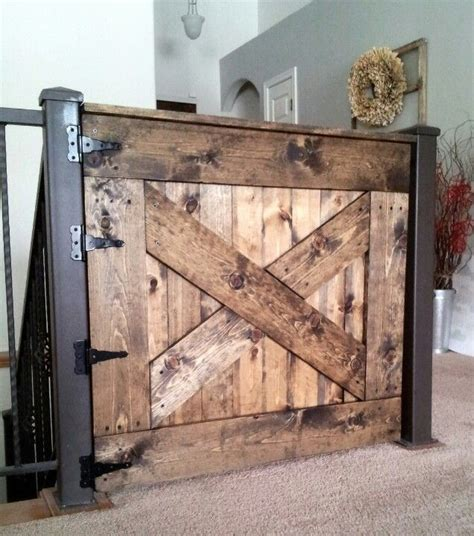 Barn Door Baby Gate Google Search Diy Furniture Home Barn Door Baby Gate