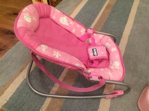 Baby Born Doll High Chair by Doll Bundle 3 Dolls Inc Baby Born Bouncing Chair