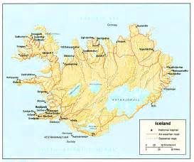 Iceland Map Europe by Nationmaster Maps Of Iceland 8 In Total