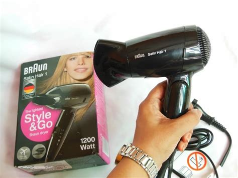 Braun Satin 1 Hair Dryer Review braun satin hair 1 style and go hair dryer review