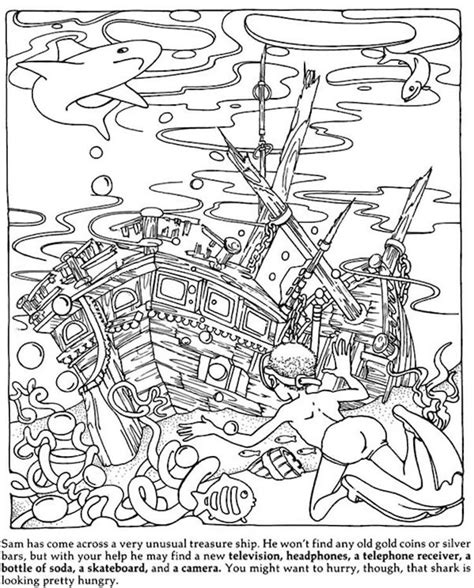 hidden mosaic pictures printable hidden picture coloring pages miss adewa 0884b4473424