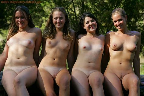 Four Australian Girls Play Naked In The Woods Your Dirty Mind