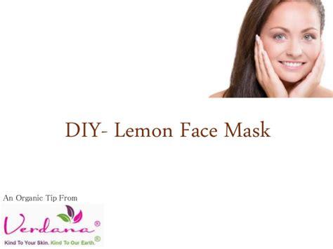 Mask Organik Lemon best acne care using diy lemon mask