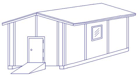 Shed Drawing by Shed 10 X12 Garden Plans