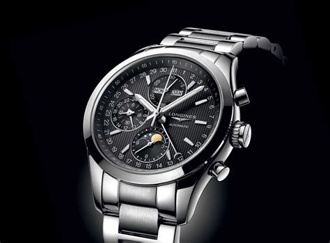 best longines longines conquest classic moonphase chronograph time