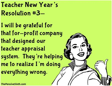 new year resolution for teachers the pensive sloth stuff and ideas for