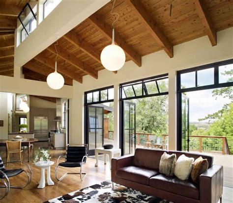 gustave carlson design modern barn interior barn