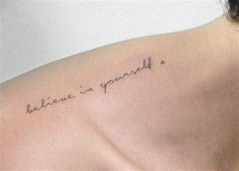 tattoo yourself believe in yourself quotes redgrey gallery