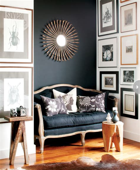 Wall Color For Charcoal Sofa by Black And Charcoal Gray Paint Colors For Our Home Office