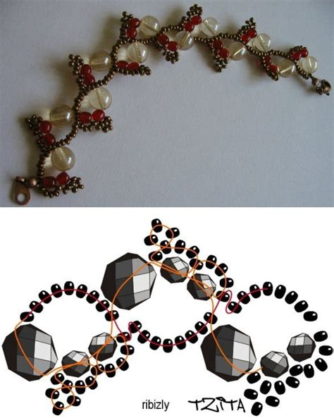 seed bead tutorials tutorial for this pretty bracelet or necklace http
