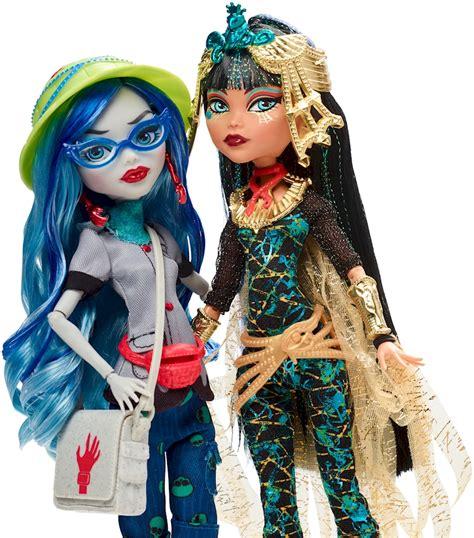 High Draculaura Cleo And Nile Ghoulia Yelps Doll Original high 174 cleo de nile 174 ghoulia yelps 174 2 pack shop