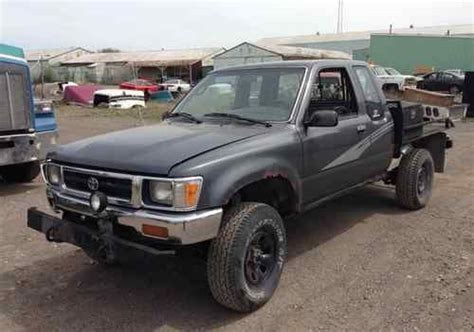 buy car manuals 1993 toyota xtra user handbook buy used 2004 toyota tacoma ext cab 4wd manual w wildernest cer in durham north